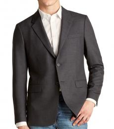 Theory Dark Grey Chambers Wool Jacket