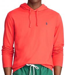 Red Jersey Hooded T-Shirt