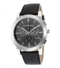 Burberry Black Grey Dial Watch