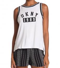 DKNY BlackWhite Logo Boxer 2-Piece Set