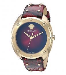 Versace Red Shadov Watch