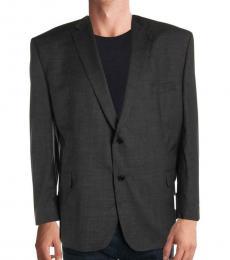 Dark Grey Elliot Wool Blazer