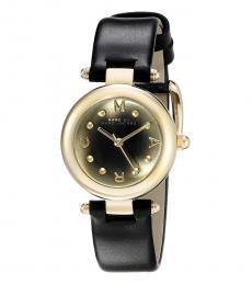 Marc Jacobs Black Dotty Dial Watch