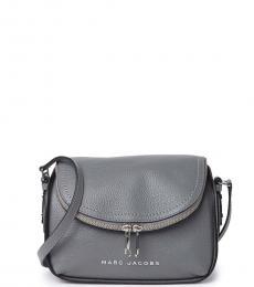 Grey The Groove Medium Crossbody Bag