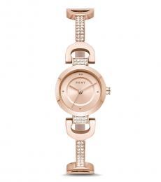 DKNY Rose Gold City Quartz Watch