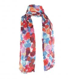 Coach Multi-Color Blended Scarf