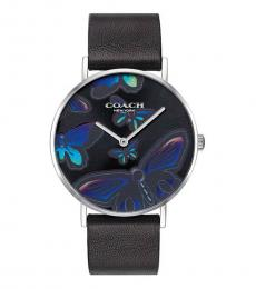 Coach Black Butterfly Analog Casual Watch
