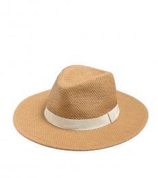 J.Crew Dark Natural Panama Hat