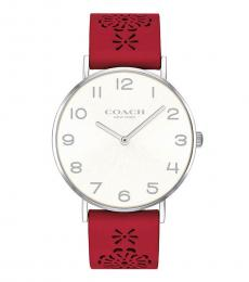 Coach Red Perry Analog Casual Watch