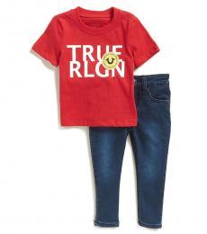 2 Piece T-Shirt/Jeans Set (Baby Boys)