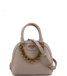 Love Moschino Grey Chain Small Satchel