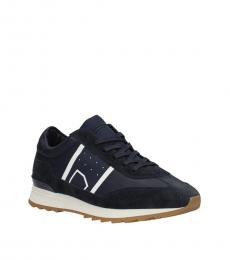 Blue Sporty Sneakers
