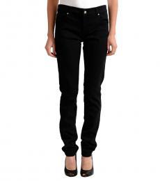 Versace Jeans Black Straight Legs Jeans
