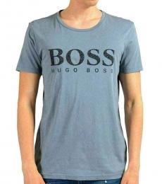 Hugo Boss Grey Crewneck T-Shirt