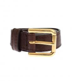 Brown Vivid Belt