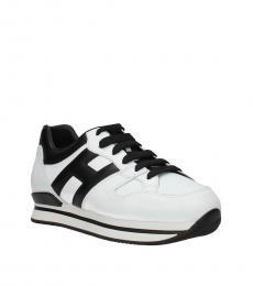 Hogan White Classic Sneakers