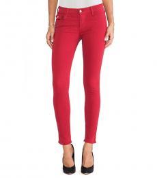 True Religion Red Super Skinny Jeans