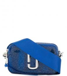Marc Jacobs Blue Jelly Snapshot Small Crossbody