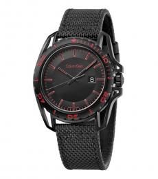 Black Earth Nylon Watch