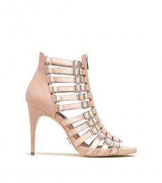 Dusty Rose Kat Leather Heels