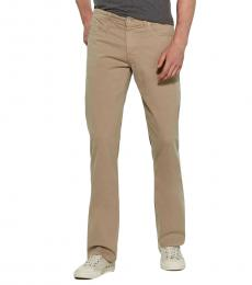 AG Adriano Goldschmied Beige Prot�g� Straight Leg Jeans