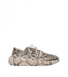 Giuseppe Zanotti Snake Print Urchin Sneakers