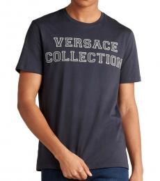 Navy Collegiate Logo T-Shirt