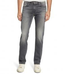 7 For All Mankind Grey Slimmy Slim Jeans