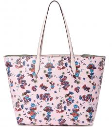 Rebecca Minkoff Pink Floral Heather Large Tote