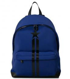 Givenchy Blue Stripe Large Backpack