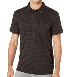 Black Standard Issue Polo