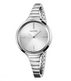 Silver Lively Silver Dial Watch