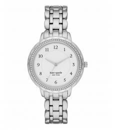 Kate Spade Silver Morningside Watch