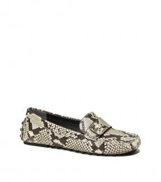 Tory Burch Snake Print Kira Loafers