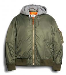 Coach Fatigue Nylon Hooded Jacket