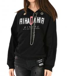 Diesel Black Chain Sweatshirt