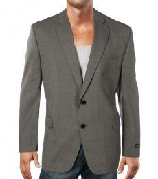 Ralph Lauren Taupe Two-Button Blazer