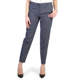 Armani Jeans Blue Straight Trousers