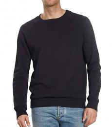 Balmain Black Solid Classic Sweatshirt