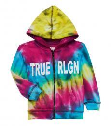 True Religion Little Boys Multicolor Graphic Hooded Jacket