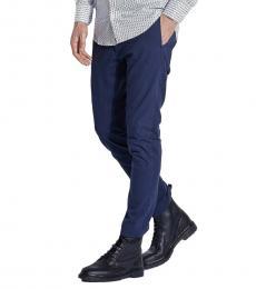 Diesel Navy Blue Slim Fit Pants