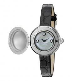 Marc Jacobs Black Courtney MOP Dial Watch