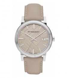 Burberry Tan Swiss Quartz Watch