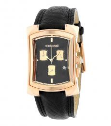 Black Tomahawk Chronograph Watch
