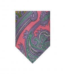 Ralph Lauren Pink-Purple Paisley Tie