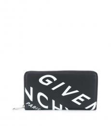 Givenchy Black Zipper Wallet