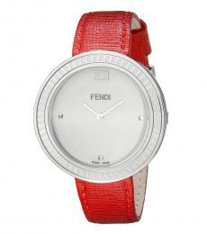 Fendi Red My Way Watch