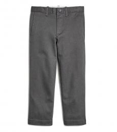 Little Boys Coal Grey Skinny Fit Pants