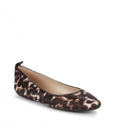 Leopard Print Vada Ballet Flats