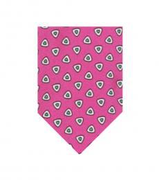 Ralph Lauren Pink Foulard Tie